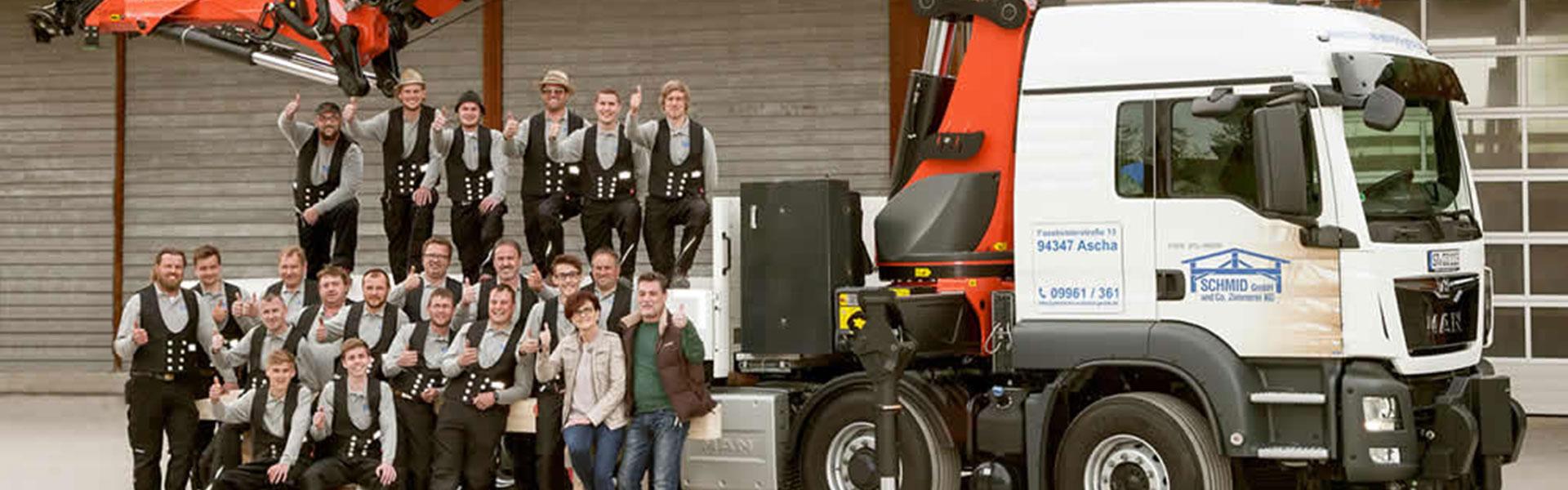 Schmid GmbH & Co. Zimmerei KG in Ascha